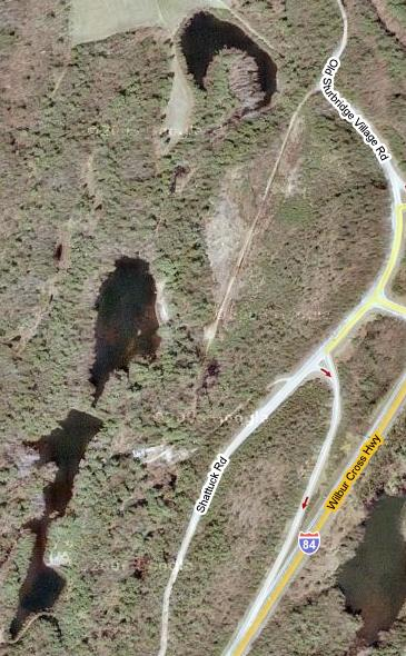 Camp Robinson Crusoe, satellite view