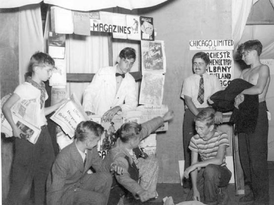 CRC Bust-up skit from the early 1940's