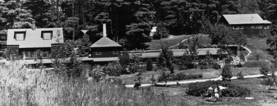 The main house in 1936