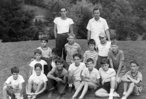 Senior boys, 1946 (click for a large version)